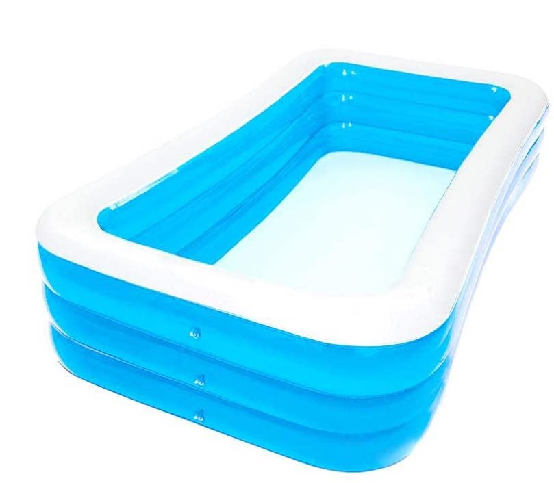 Inflatable family size pool