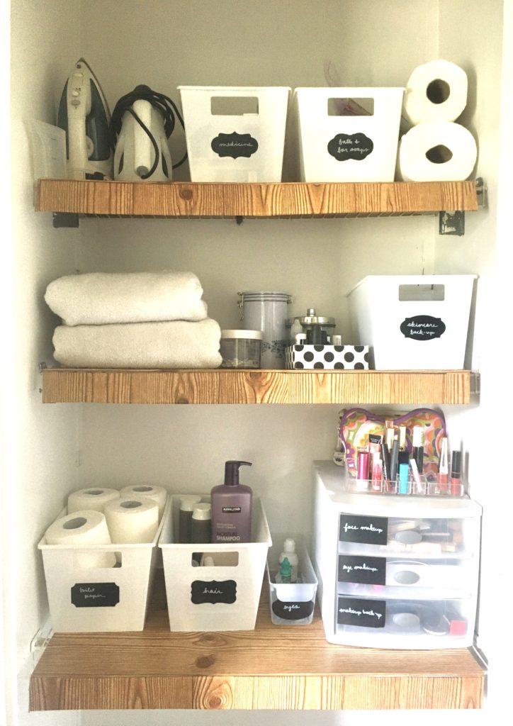 Linen Closet DIY