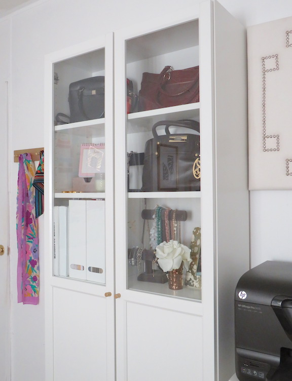 One Room Challenge Office Cabinet After Photo
